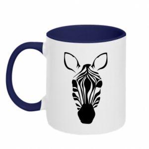Kubek dwukolorowy Zebra w paski