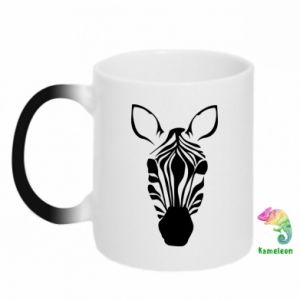Kubek-kameleon Zebra w paski