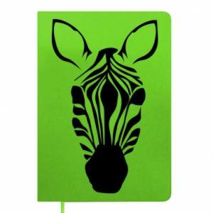 Notepad Striped zebra