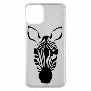 Phone case for iPhone 11 Striped zebra