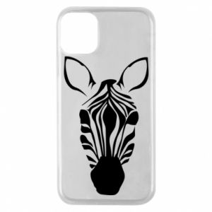 Phone case for iPhone 11 Pro Striped zebra