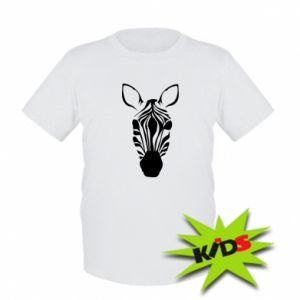 Kids T-shirt Striped zebra