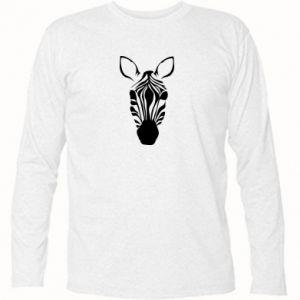 Long Sleeve T-shirt Striped zebra