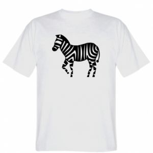 Koszulka Zebra with color stripes