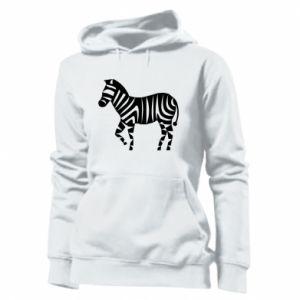 Bluza damska Zebra with color stripes