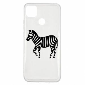 Etui na Xiaomi Redmi 9c Zebra with color stripes