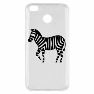 Etui na Xiaomi Redmi 4X Zebra with color stripes