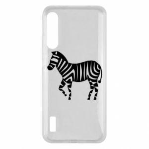 Etui na Xiaomi Mi A3 Zebra with color stripes