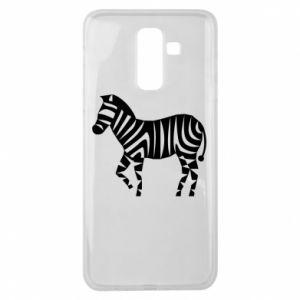 Etui na Samsung J8 2018 Zebra with color stripes