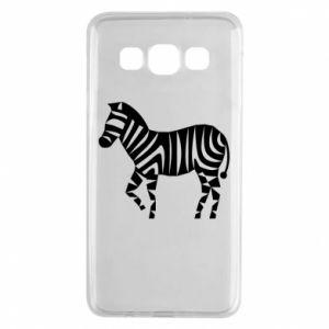 Etui na Samsung A3 2015 Zebra with color stripes