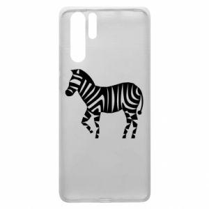 Etui na Huawei P30 Pro Zebra with color stripes