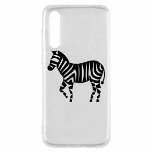 Etui na Huawei P20 Pro Zebra with color stripes
