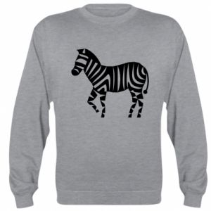 Bluza Zebra with color stripes