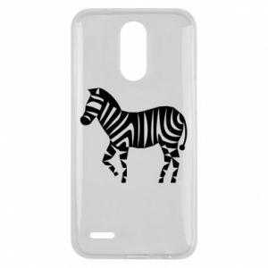 Etui na Lg K10 2017 Zebra with color stripes