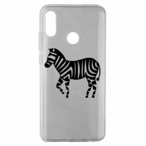 Etui na Huawei Honor 10 Lite Zebra with color stripes