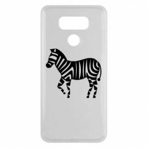 Etui na LG G6 Zebra with color stripes