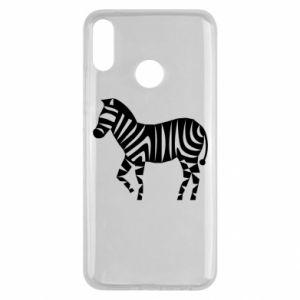 Etui na Huawei Y9 2019 Zebra with color stripes