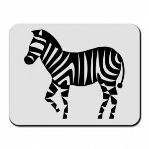 Podkładka pod mysz Zebra with color stripes