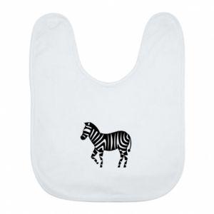 Śliniak Zebra with color stripes