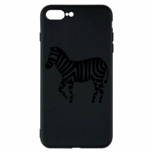 Etui do iPhone 7 Plus Zebra with color stripes