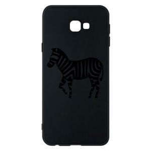 Etui na Samsung J4 Plus 2018 Zebra with color stripes