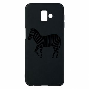 Etui na Samsung J6 Plus 2018 Zebra with color stripes