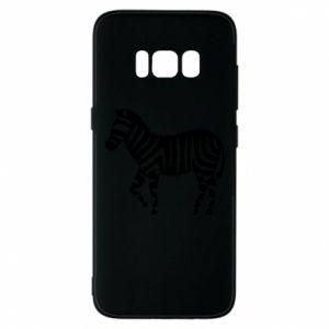 Etui na Samsung S8 Zebra with color stripes