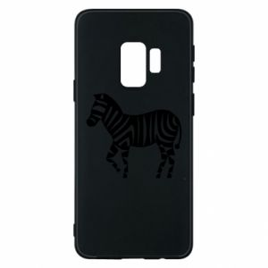 Etui na Samsung S9 Zebra with color stripes