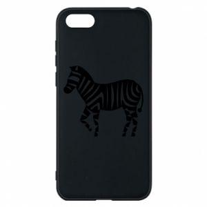 Etui na Huawei Y5 2018 Zebra with color stripes