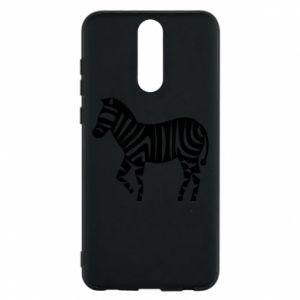Etui na Huawei Mate 10 Lite Zebra with color stripes