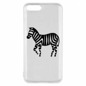 Etui na Xiaomi Mi6 Zebra with color stripes