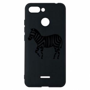Etui na Xiaomi Redmi 6 Zebra with color stripes