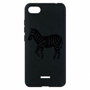 Etui na Xiaomi Redmi 6A Zebra with color stripes