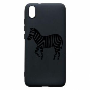 Etui na Xiaomi Redmi 7A Zebra with color stripes