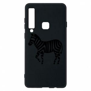 Etui na Samsung A9 2018 Zebra with color stripes