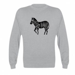 Bluza dziecięca Zebra with color stripes