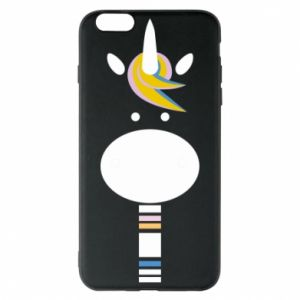Etui na iPhone 6 Plus/6S Plus Zebra with colored stripes on the neck