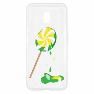 Etui na Nokia 2.2 Zielony lizak