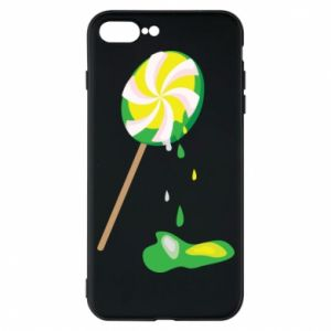 Etui do iPhone 7 Plus Zielony lizak