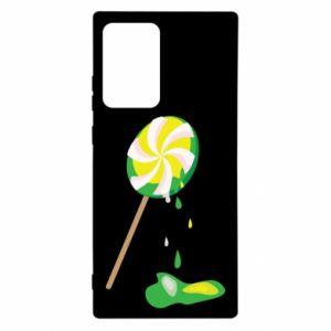 Etui na Samsung Note 20 Ultra Zielony lizak