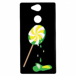 Etui na Sony Xperia XA2 Zielony lizak