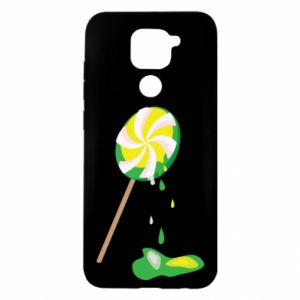 Etui na Xiaomi Redmi Note 9/Redmi 10X Zielony lizak