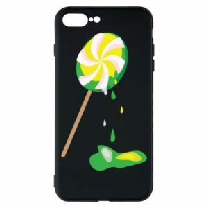 Etui na iPhone 8 Plus Zielony lizak
