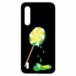 Etui na Xiaomi Mi9 Lite Zielony lizak