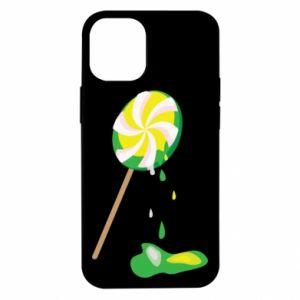 Etui na iPhone 12 Mini Zielony lizak