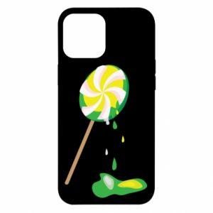 Etui na iPhone 12 Pro Max Zielony lizak