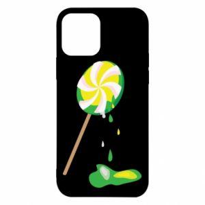 Etui na iPhone 12/12 Pro Zielony lizak
