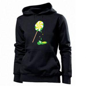 Women's hoodies Green lollipop