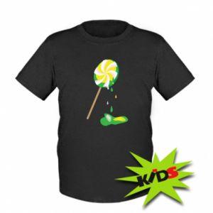 Kids T-shirt Green lollipop