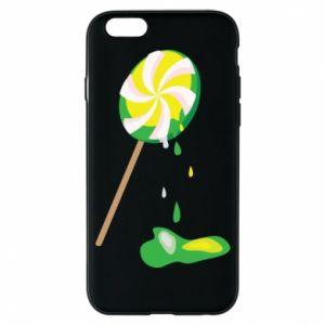 Etui na iPhone 6/6S Zielony lizak